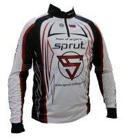 Футболка Sprut Team of Anglers White/Black/Red/ XL