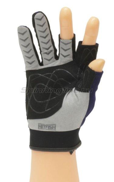 Перчатки Hitfish Glove-08 XL синий -  2