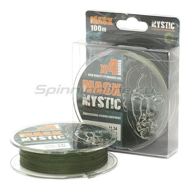 Шнур Akkoi Mask Mystic X4 Deep Green 100м 0,10мм -  1