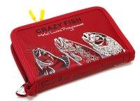Кошелек для блесен Crazy Fish 13х20х3 red