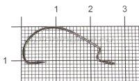 Крючок Wide Range Offset Joint Hook №7