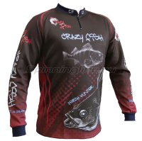 Свитшот Crazy Fish Perch Hunter XXXL