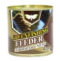 Зерновой микс Greenfishing Фидер Оригинал 430гр
