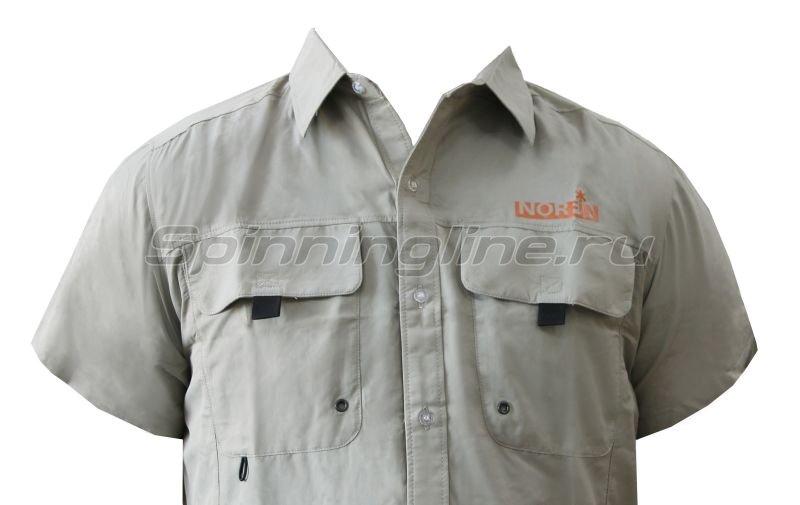 Рубашка Norfin Focus Short Sleeves Gray M -  2