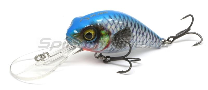 Воблер Savage Gear 3D Goby Crank 50F Blue Silver -  1
