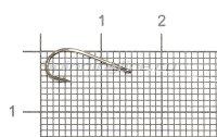 Крючок Saikyo KP-11014 Worm BN №12