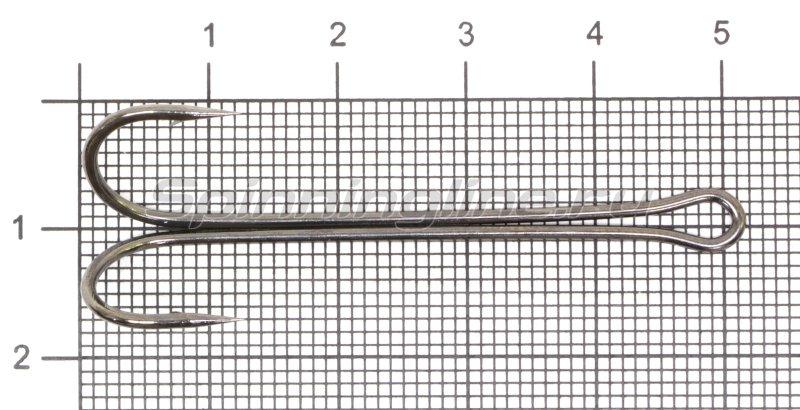 Двойник Flagman Double Hook Long SS №1/0, арт. FDH-L1_0 – купить по цене 80 рублей в Москве с доставкой по России в рыболовном интернет-магазине Spinningline