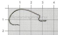 Крючок Stinger PowerGrip STH-78BN №1