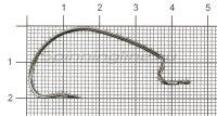 Крючок Stinger PowerGrip STH-78BN №3/0