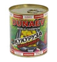 Добавка для прикормки Dunaev Кукуруза Клубника 320мл