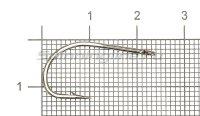 Крючок Cobra Carp CC305 №2