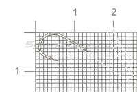 Крючок Cobra Carp CNC101 №8