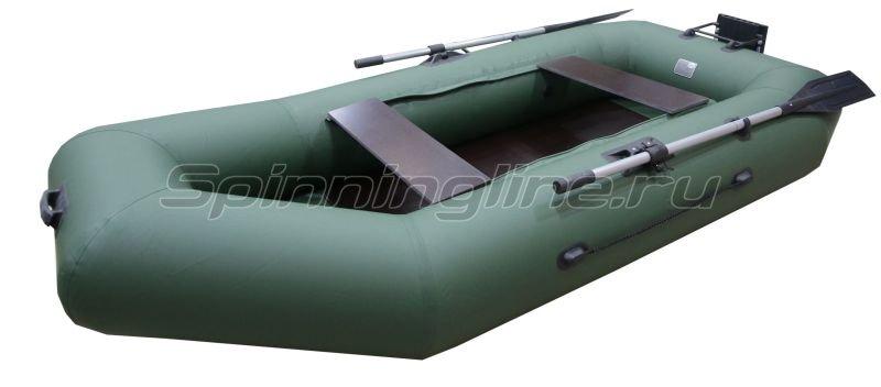 Лодка ПВХ Патриот Дельта 275 транец+слань -  1