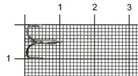 Тройник Slender Round Treble №16