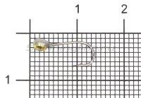 Мормышка Shape свинцовая с коронкой MA10 латунь