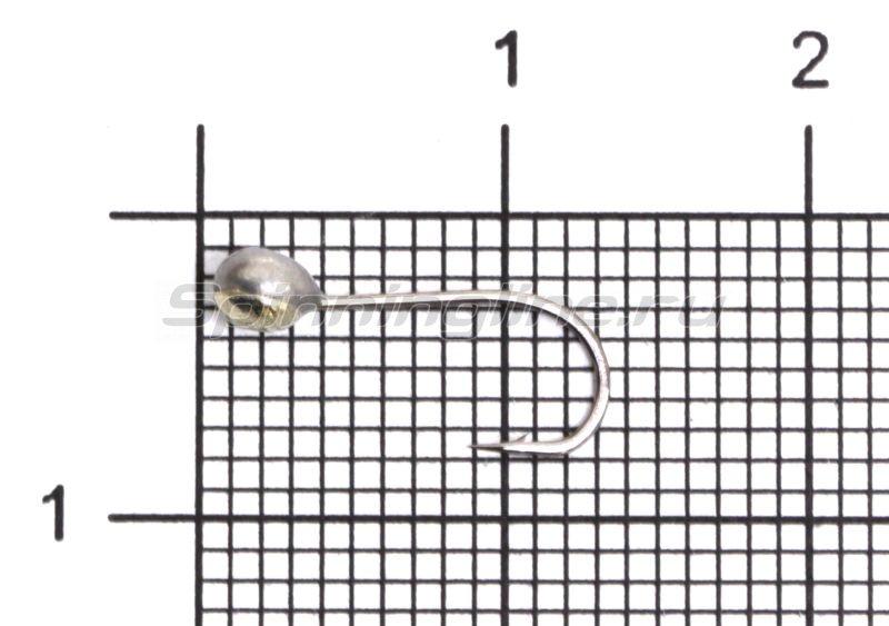 Мормышка свинцовая с коронкой Shape MA10 мельхиор -  1