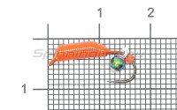 Набор мормышек вольфрамовых Левша-НН Caddis № 63-2