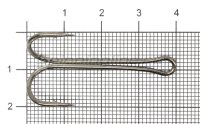 Двойник Double Hook Long Shank №1/0
