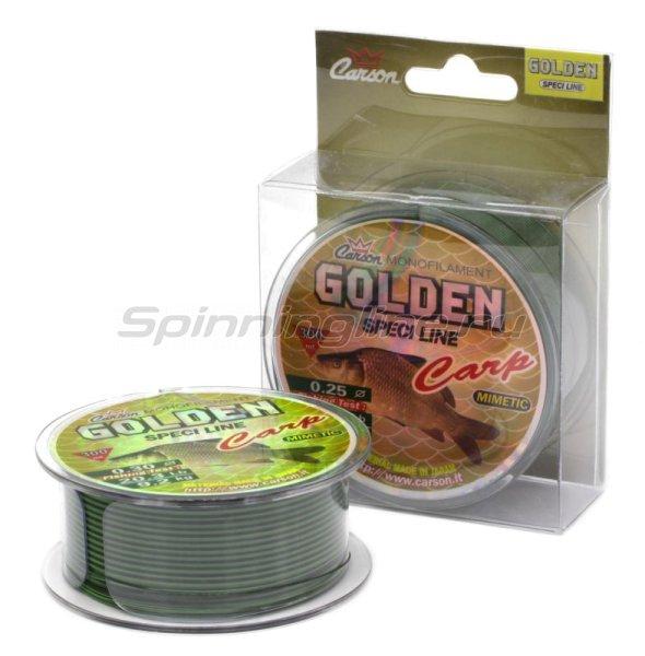 Леска Carson Mimetic Golden Carp 300м 0,40мм -  1