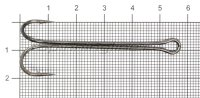 Двойник Mottomo ZX-03XL №2/0 Extra Long