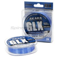 Леска Akara GLX Premium 100м 0,14мм Blue