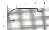 Крючок Maruto 1957BN №1