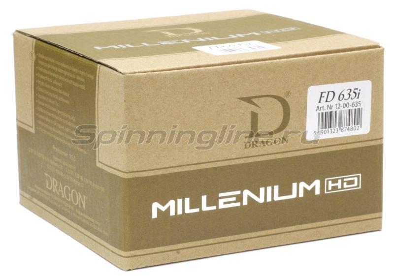 Катушка Dragon Millenium HD 620RD -  9