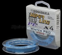 Шнур Kosadaka Super Line PE X4 Winter Pro 50м 0,20мм голубой