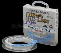 Шнур Kosadaka Super Line PE X4 Winter Pro 50м 0,20мм белый