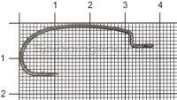 Крючок Ryugi Limit Hook №1/0