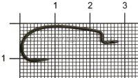 Крючок Ryugi Limit Hook №3