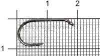 Крючок Carp Pro Black Nickel Long Shank №6
