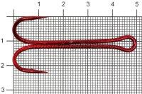 Двойник Flagman Double Hook Long SS №4/0 Red