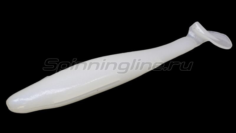 "Приманка Gan Craft Bariki Shad 6.8"" 005-Pearl White -  1"