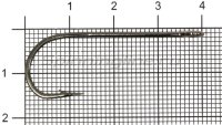 Крючок Flagman Single F-61 №2/0
