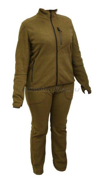 Костюм флисовый женский Рич 52-54 рост 170-176 бежевый -  1