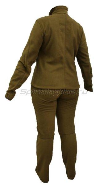 Костюм флисовый женский Рич 52-54 рост 170-176 бежевый -  2