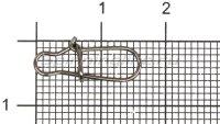 Карабин Daiwa Fast Lock Karabiner №1