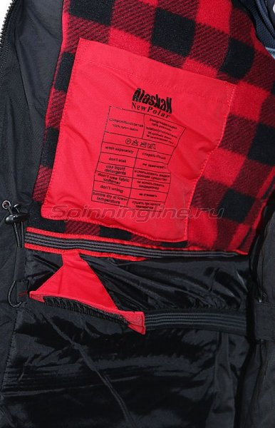 Костюм Alaskan New Polar M L красный/черный -  16