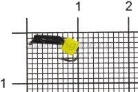 Мормышка Wormix Столбик d1.5 сырный кубик черный