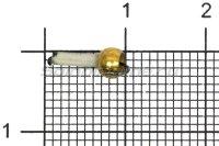Мормышка Столбик d1.5 фосфор латунный шар