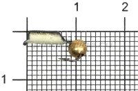 Мормышка Столбик d2.5 фосфор латунный шар