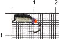 Мормышка Столбик d3 фосфор черный