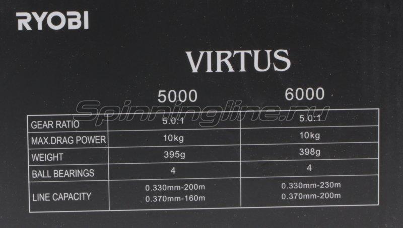 Катушка Ryobi Virtus 6000 -  9