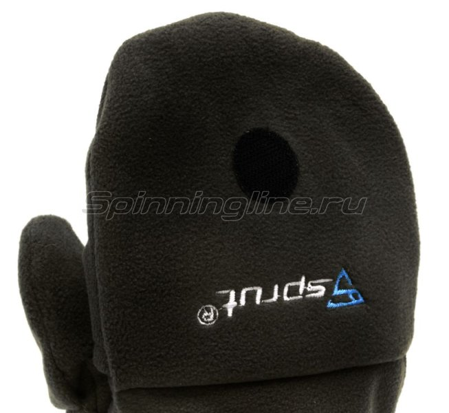 Перчатки-варежки Sprut Thermal WS Gloves-Mittens XXL Black -  6