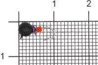 Мормышка Volfram37 Дробь d4 черный