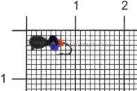 Мормышка Volfram37 Капля d2.5 черный