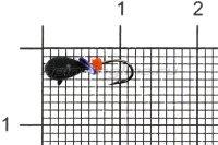 Мормышка Volfram37 Капля d3 черный