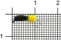 Мормышка True Weight Банан Кубик d2 сырный кубик