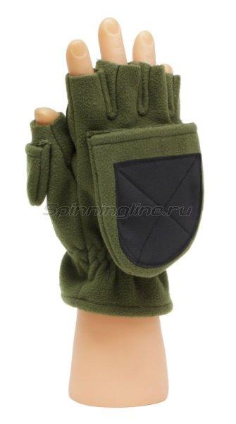 Перчатки-варежки Alaskan Colville Magnet S хаки -  2